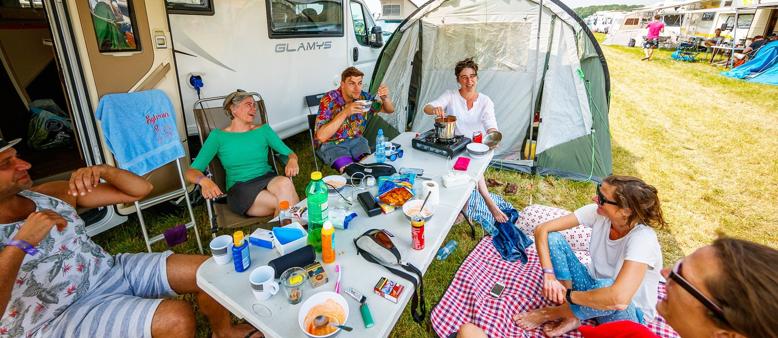 Campercamping pitch + electricity